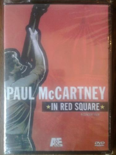 Paul. Mc.cartney_.in. Red. Square ( Dvd Importado )