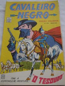 Cavaleiro Negro Cores Nº 204 De 1969 Faroeste E Cowboys Rge