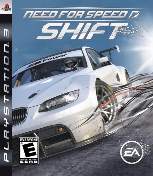 Need For Speed Shift Ps3 Mídia Física | Garantia Playgorila
