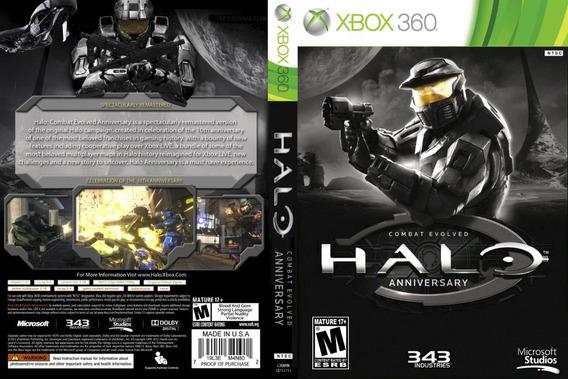 Halo Combat Evolved Anniversary Xbox 360 Original Frete $14