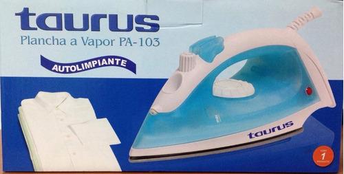 Plancha A Vapor Taurus Pa-103 Autolimpiante Nueva