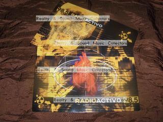 Radioactivo 98.5 Postales Ruido De Coleccion