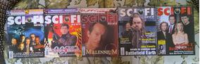 Pacote Sci-fi News Nº 3, 5, 18, 32 E 42