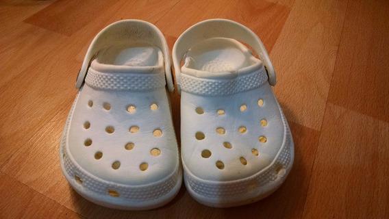 Sandalias Zuecos De Goma Para Niños Talle 22