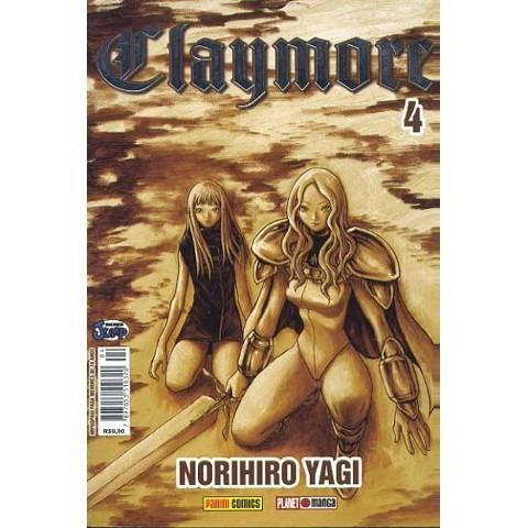 Mangá Claymore Nº 04 - Panini