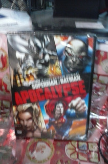 Dvd Superman Batman Apocalypse
