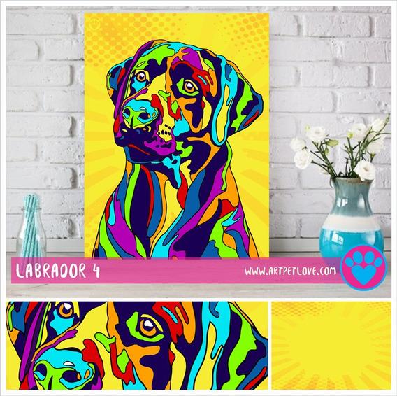 Cuadro Art Pet Love - Labrador 4.