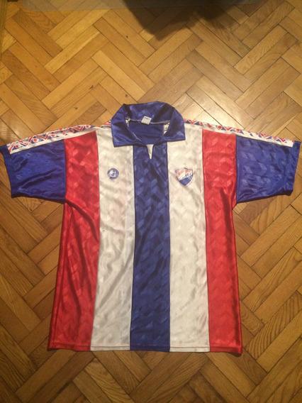 Antigua Camiseta Nacional De Paraguay Reliquia!!
