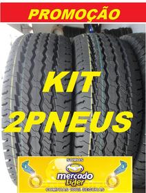 2 Pneus Remold 205/70r15 Carga 8 Lonas Ducato,hr, Boxer