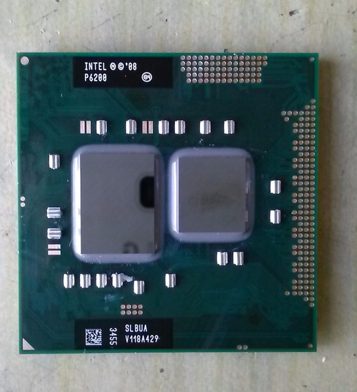 Processador Pentium P6200 2.13/3m/667 Slbua V118a429 Pga988a