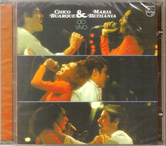 Cd Chico Buarque E Maria Bethania - Ao Vivo
