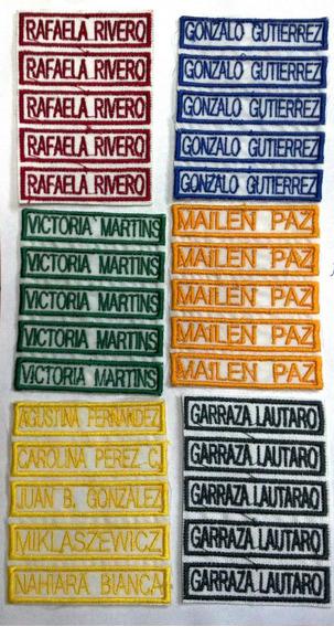 Nombres Bordados, Jardin Maternal