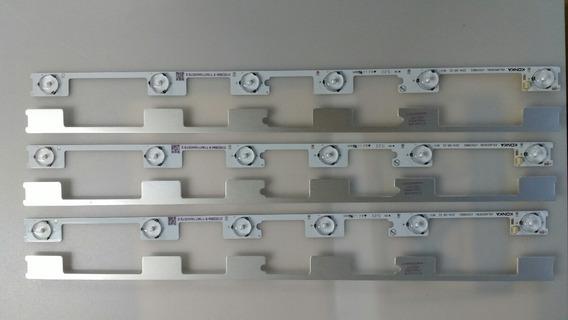 Barra Régua De Led Semp Toshiba Dl4844 4845 48l2400 Kit Com6