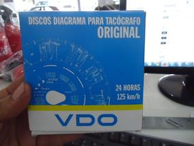 Disco Para Tacógrafo - 24 Horas 125 Km/h - Vdo ( 1 Dia )