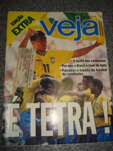 Revista Veja - Brasil Tetra Campeão