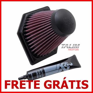 Filtro Ar K&n Kn - Bmw K1200s K1200 1200s K 1200 S / 2005 2006 2007 2008