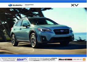 Próximo Lanzamiento: Nuevo Subaru Xv 2018