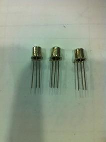 Transistor 2n2369 Metalico Npn Pacote Com 10pcs Sdm
