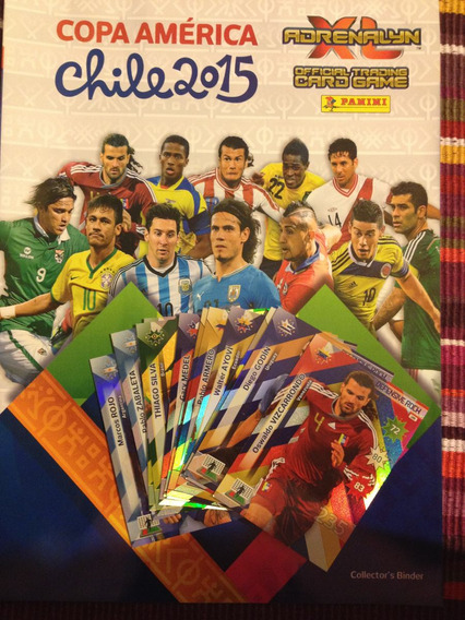 Adrenalyn Cards Copa America 2015 Avulsa