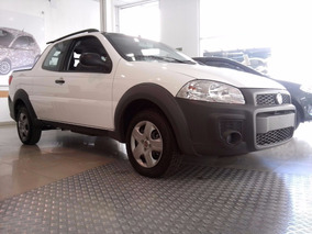 Fiat Strada Working Doble Cabina Anticipo 43 Mil O Usado