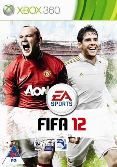 Jogo Fifa 12 2012 Xbox 360 X360 Mídia Física Futebol Origina