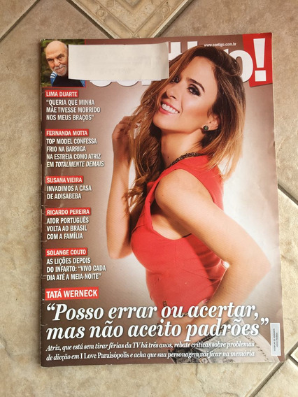 Revista Contigo Tatá Werneck Gisele Suzana Vieira N°2094