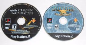 Socom + Syphon Filter Dark Mirror Originais Ps2 Cr $15