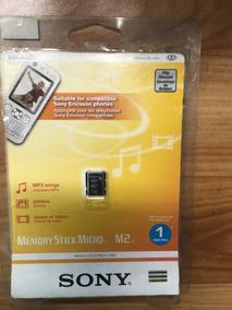Cartão De Memória M2 Sony 1gb