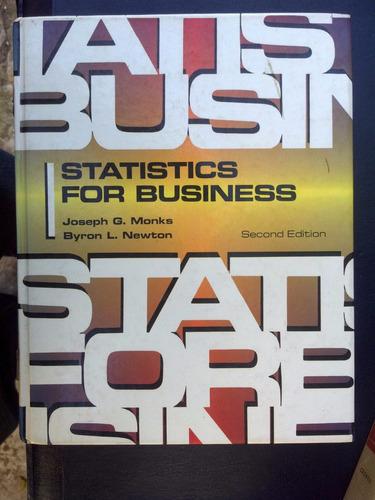 Statistics For Business - Monks & Newton
