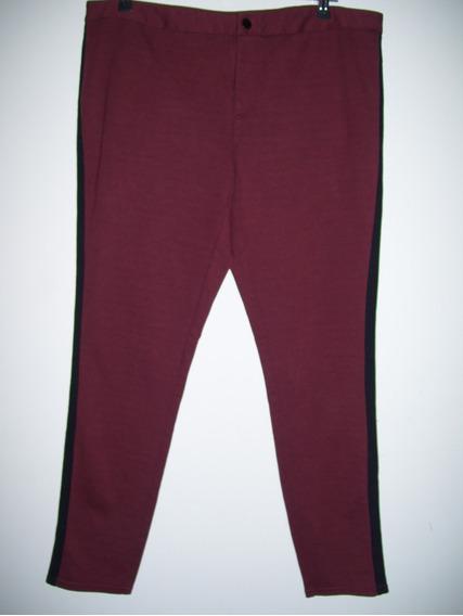 Calza Tipo Pantalon Elastizada Importada Talle Especial