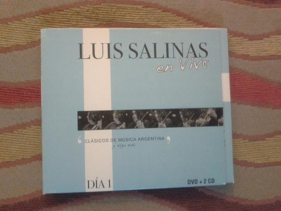 Cd-dvd Triple- Luis Salinas- En Vivo