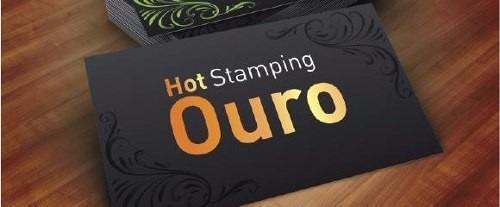 1000 Cartão Hotsatmping Ouro