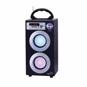 Caixa De Som Bluetooth Entrada P/ Pen Drive Sd Newlink Sp106