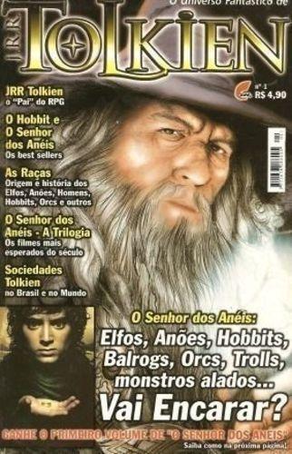 O Universo Fantástico De Tolkien Nº1 Marcus Moraes - Editor