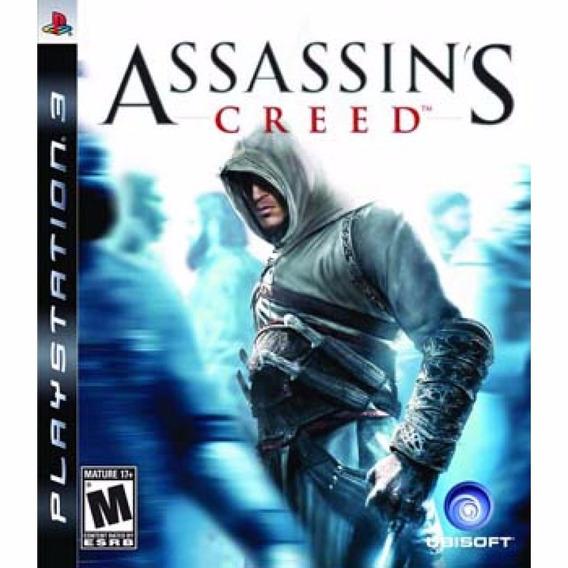 Assassins Creed 1 Ps3 - Mídia Física   Garantia Playgorila