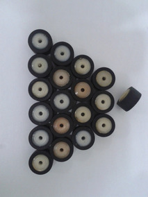 3 Pç Rolo Pressor Rolopressor Ø13mm Núcleo Plást. Eixo Fino