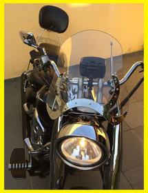 Para-brisa  Para Motos Custom  Em Policarbonato.lançamento.