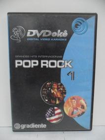 Dvd - Música - Karaokê - Pop Rock 1 - Hits Internacionais