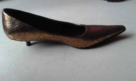 Zapatos Dorados Via Appia