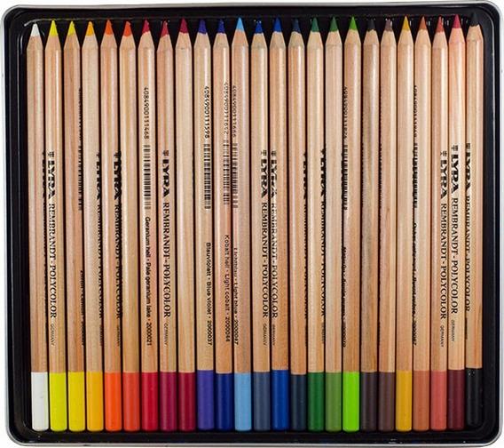 Lyra Rembrandt Polycolor Sueltos X 24 U