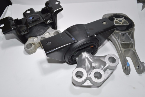 Kit 3 Coxim Calco Motor Cambio Sonic Spin Onix Cobalt 1.4 1.8 Automatico 2012 2013 2014 2015 2016