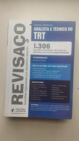 Revisaço Analista E Técnico Do Trt