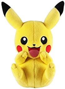 Pelúcia Pokémon Pikachu Funny 20cm Tomy Original