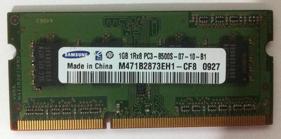 Memória Samsung 1gb 1rx8 Ddr3 1066 Pc3 8500s M471b2873eh1