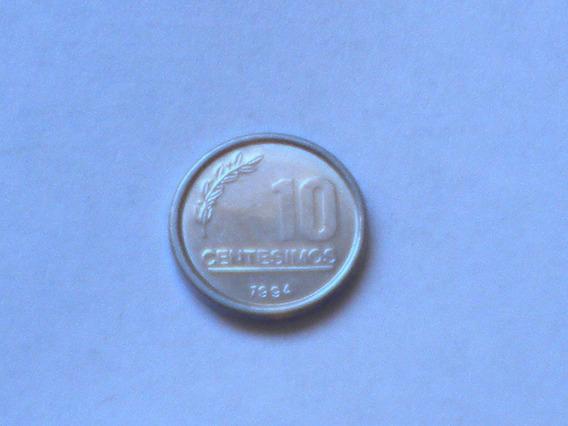Moneda 10 Centimos Uruguayos 1994
