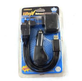 Carregador Universal Fjw 12 Em 1 Veicular Residencial A8184