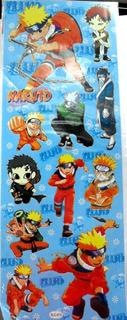 Plancha De Stickers De Anime De Naruto Grande!! Gaara Kakash