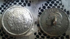 Monedas Para Rastra , Patacon , Plata