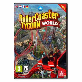 Roller Coaster Tycoon World Pc - Midia Digital Original