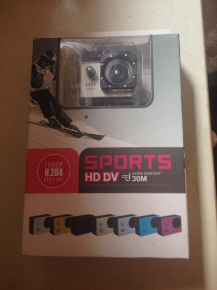 Camera Sports Hd Dv 1080p Semi Nova